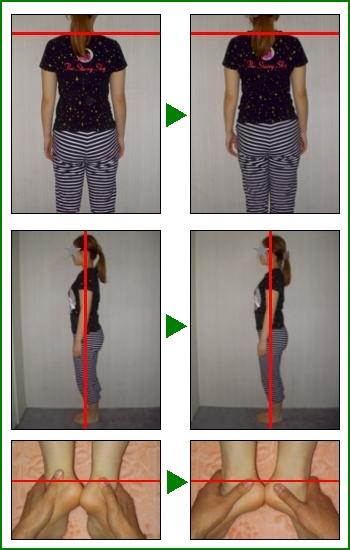 姿勢の変化例2